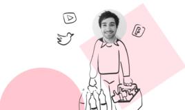 Evian : retour en détails sur 1 mois de campagnes Youtube, Facebook et Twitter